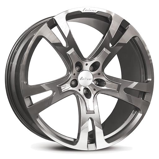 Lorinser RS10 Himalaya Gray, polished surface
