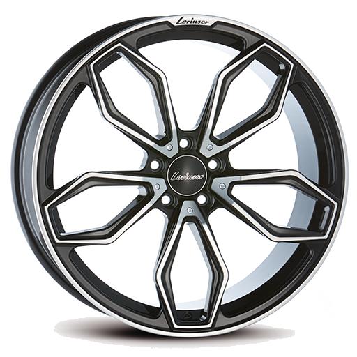 Lorinser RS11 Black, polished