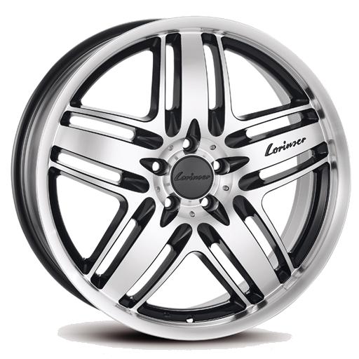 Lorinser RS9 Black polished