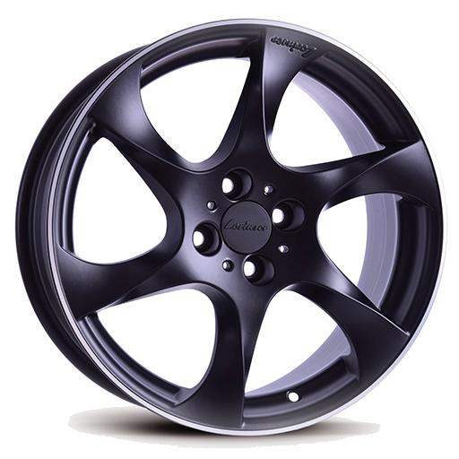 Lorinser Speedy Black, polished edge
