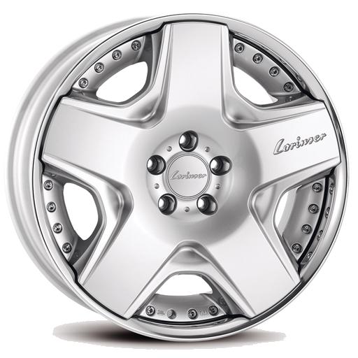 Lorinser RSK6 Silver, polished rim