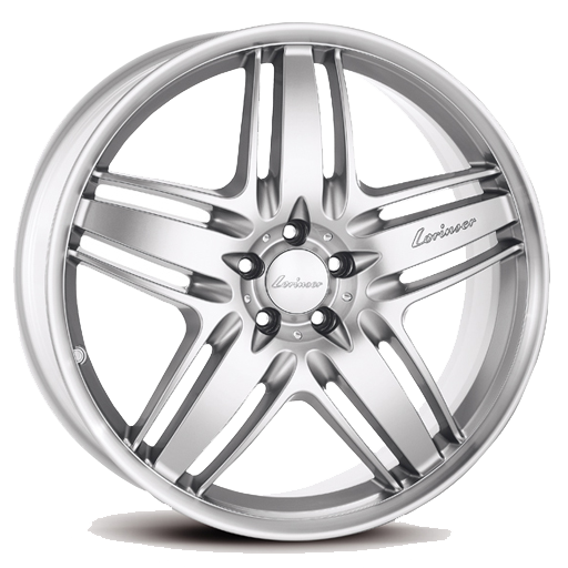 Lorinser RS9 Silver polished rim