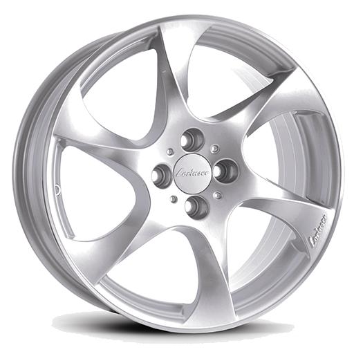 Lorinser Speedy Silver, polished edge